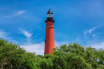Ponce De Leon Inlet Lighthouse, near Port Orange, Daytona Beach, Florida.