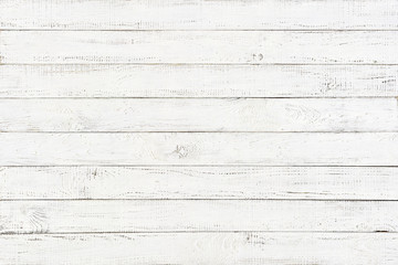 Wall Mural - white wood texture background, natural pattern