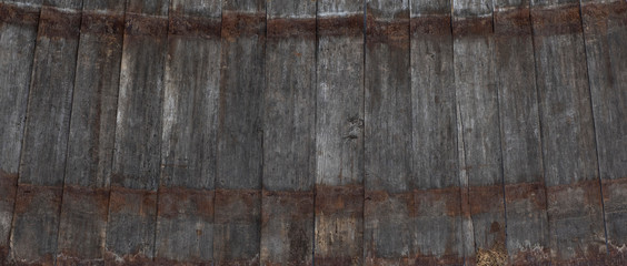 dark brown weathered texture old wooden wood plank barn wall Fototapete