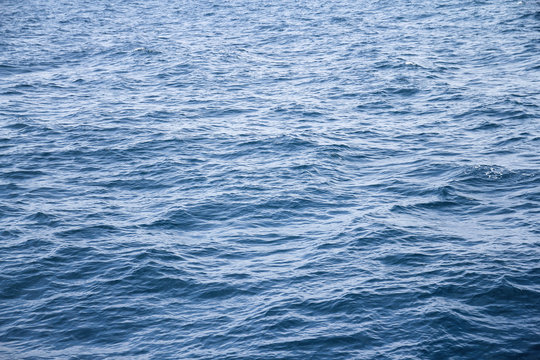 Water blue sea waves background