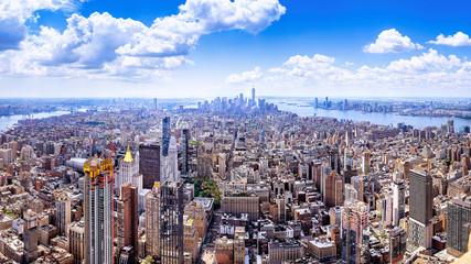 Wall Mural - panoramic view at te new york city center