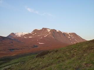 Dawn on Ben Alder, Scotland