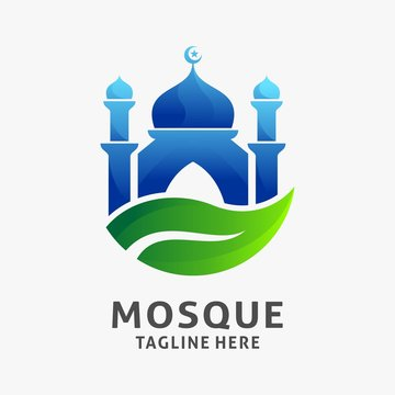 Islamic mosque logo design inspiration