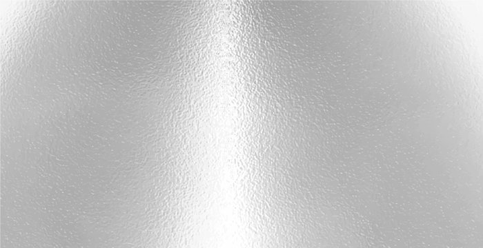 Light matte surface. Plastic glass. Frosted winter window glass. White gray gradient transparent background. Panoramic realistic vector illustration