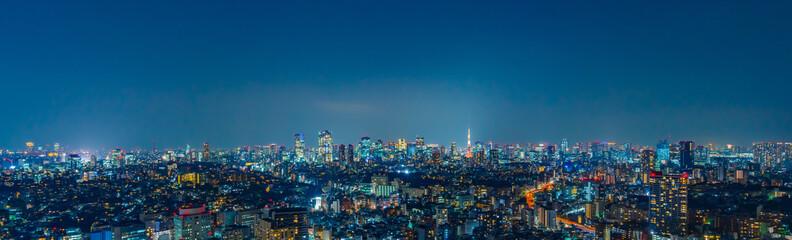Autocollant pour porte Tokyo 東京風景