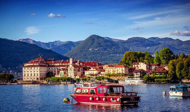 Borromean islands, lake maggiore, Stresa, italy