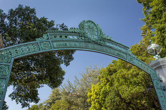 Sather Gate at University of California, Berkeley