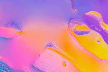 Artsy Neon Purple Texture Liquid background