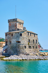 Rapallo Castle by the sea
