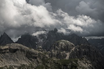 Wall Mural - Cadini Di Misurina Mountains