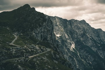 Wall Mural - Mangart Mountain Slovenia