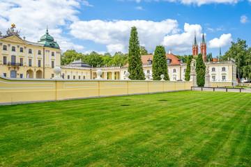 Obraz Ogród w Pałacu Branickich, Białystok - fototapety do salonu