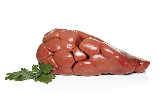 Beef Kidney with herbs