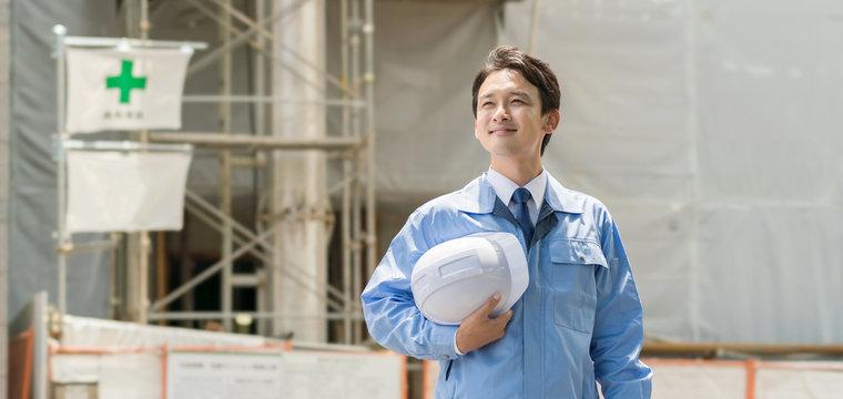 建築・ビジネスマン