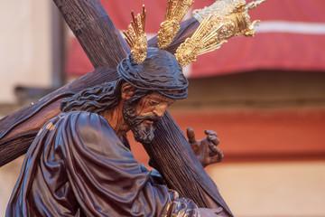 Fototapete - cristo de la Salud de la hermandad de la candelaria, semana santa de Sevilla