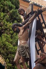 Fototapete - hermandad de la trinidad, semana santa en Sevilla