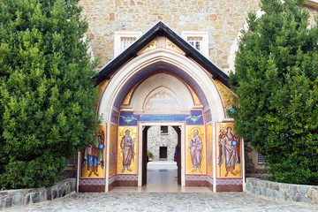 Kykkos monastery of the Cyprus Orthodox Church, which houses the Kykkos icon of the mother Of God.