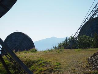 antenne radio, parabole