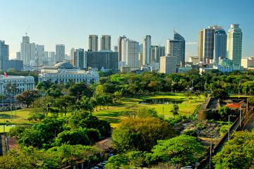 Obraz Manila  -  the capital of the Philippines - fototapety do salonu