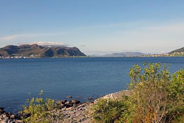 Inselpanorama Norwegen