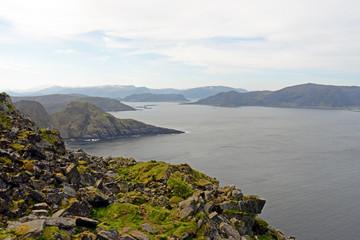 Panorama Aussicht vom Vogelfelsen Insel Runde