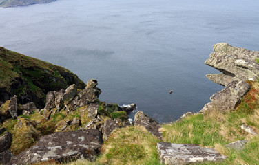 Ausblick vom Vogelfelsen Insel Runde