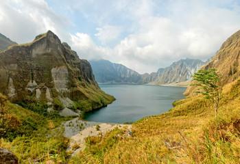 Lake Pinatubo  - the summit crater lake of Mount Pinatubo