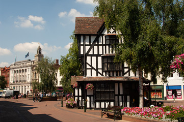 Hereford City Herefordshire England UK