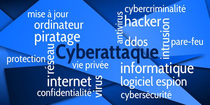 Nuage de Mots Cyberattaque v6