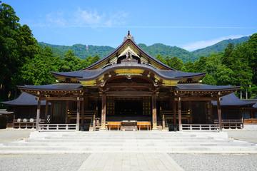 Yahiko Shrine at Yahiko Village, Niigata , Japan