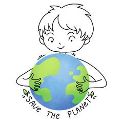 Save the planet boy