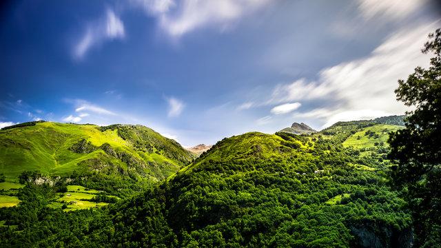collines de Borce