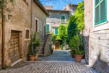 Scenic sight in Tivoli, province of Rome, Lazio, central Italy.