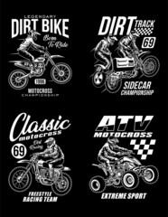 Lamas personalizadas con tu foto Motocross Graphic T-shirts Collection