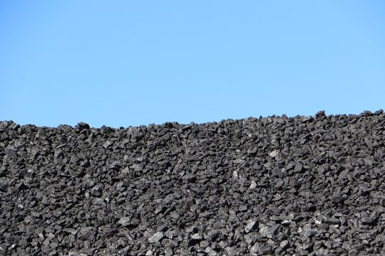 Stock piled coal for power and electricity