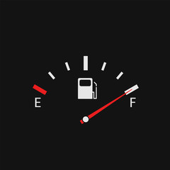 Full Fuel tank indicator