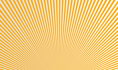 Abstract Sunburst rays background vector design. Summer beams pattern.
