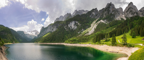 Durlaßboden Stausee Panorama am Gerlospass in Tirol