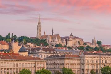 Wall Mural - Budapest skyline in Hungary