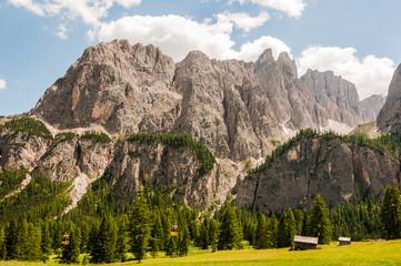 Dolomiten, Sellagruppe, Val de Misdé, Grödnerjoch, Berge, Wanderweg, Klettersteig, Südtirol, Italien