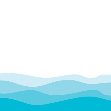 Abstract Water wave design background