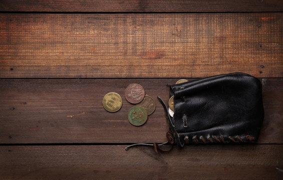 old pirate purse