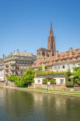 Cityscape of Strasbourg, France