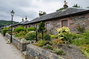 Luss, small village on the Loch Lomond, Loch Lomond & The Trossachs National Park, Scotland, UK