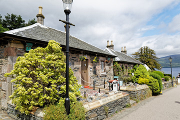 Luss, small village on the Loch Lomond, Loch Lomond & The Trossachs National Park, Scotland, UK