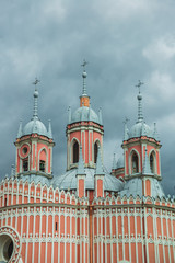 St. PETERSBURG, RUSSIA: The Chesme Church or Church of Saint John the Baptist at Chesme Palace