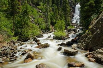 Fototapeta Fish Creek Falls near Steamboat Springs in Colorado obraz