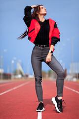 Sportive girl