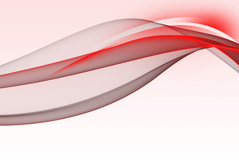 Abstract bright background with red and black dynamic lines for wallpaper, business card or template