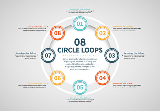 Eight Circles in a Ring Info Chart